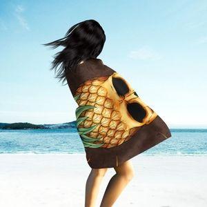 Skullistic Pineapple Skull Microfiber Towel